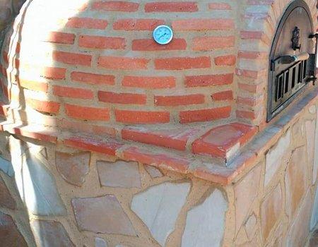 Horno montado acabado en ladrillo curvo de Pereruela (Valencia)-1