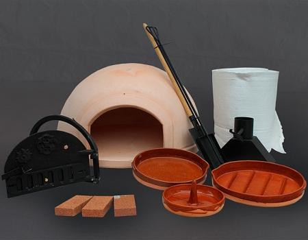 Lote de horno más materiales